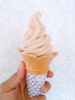 いちじくソフトクリーム