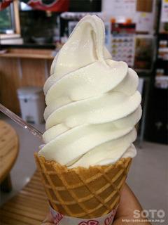 醤油ソフトクリーム