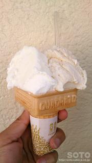 おこげ&チーズソフトクリーム