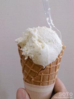 ばっけアイスクリーム