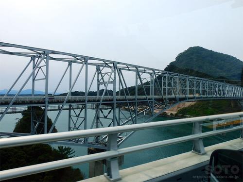 新天草1号橋から見た天門橋