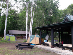 阿寒湖畔キャンプ場(1)