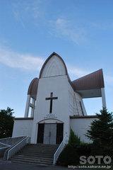 函館観光(函館聖ヨハネ教会)