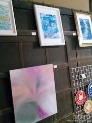 里山美術展2017(アクリル画)