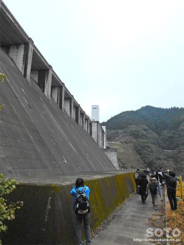 竜門ダム見学(11)