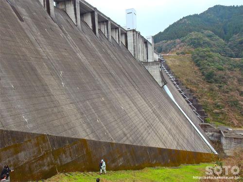 竜門ダム見学(24)