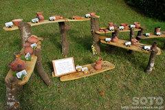 里山美術展 (縄文土器焼き物)