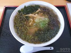 食堂さとう海藻ラーメン