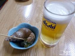 北鮮(生ビールとお通し)