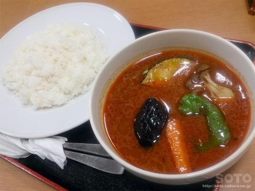 丸善(野菜スープカレー)