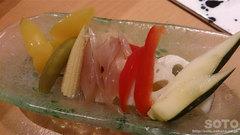 ささの(季節野菜のピクルス)
