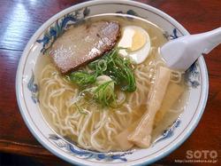 上川ラーメン(お食事処さつき/塩ラーメン)