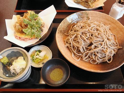 信濃江(天婦羅+蕎麦)