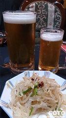 中華料理 紫禁城(生ビール大小)
