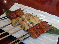 鰻樹(食べ比べ うなぎ串)