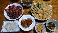 民宿かきざき 夕食