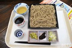金蛇水神社(お蕎麦)