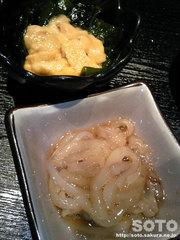 樽(ウニとイカ塩辛)