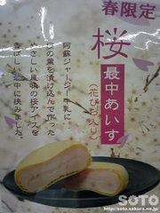 桜アイス最中