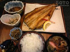 みずき亭の焼き魚定食