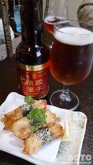 ゆず庵(ビールと山芋磯辺揚げ)
