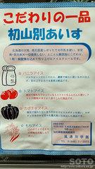 初山別アイス(チラシ)