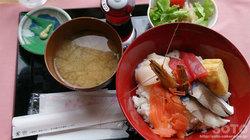 野付ネイチャーセンター(海鮮丼)
