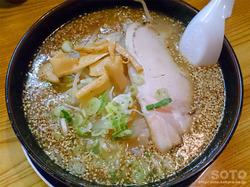 上川ラーメン(しばやま/胡麻味噌ラーメン)
