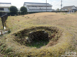 菊池高校の遺跡
