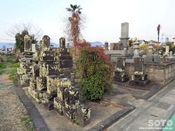 山鹿の史跡(キリシタン墓)