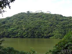 富岡城と袋池