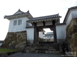富岡城(本丸への門)