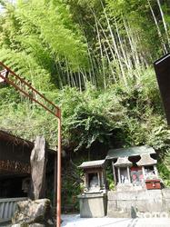 小国 鏡ヶ池(恵比寿様)