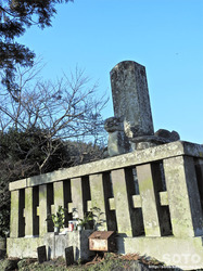 菊池武重公墓(2)