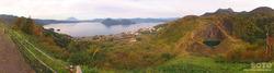洞爺湖展望台(パノラマ)