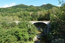 第五音更川橋梁(滝ノ沢橋から)