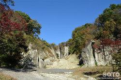 大谷石採石場跡