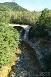 第五音更川橋梁(滝の沢橋から)