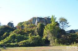 大谷石採石場跡(廃屋)