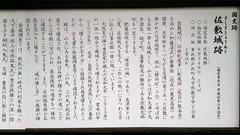 佐敷城跡(案内板2)