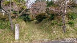 隈部氏館跡(入口)