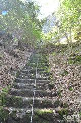岩屋神社(鎖場)