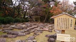名古屋城(天守礎石)