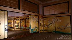 名古屋城(本丸御殿 襖絵)