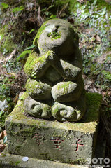 岩屋神社(合掌童子)