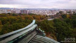 名古屋城(天守閣 7階からの眺め)