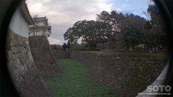 名古屋城(お堀)