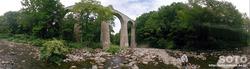 越川橋梁(パノラマ)