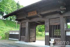 七戸城東門(復元)