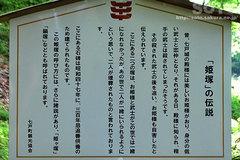 七戸城(姫塚 説明板)